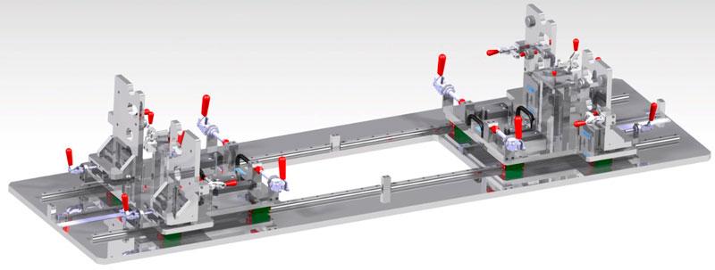 diseño y fabricación de utillajes de producción