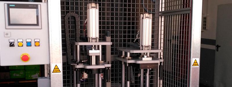 diseño y fabricación de máquinas especiales