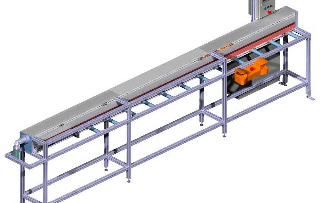 Automatización Cortadora de tubos