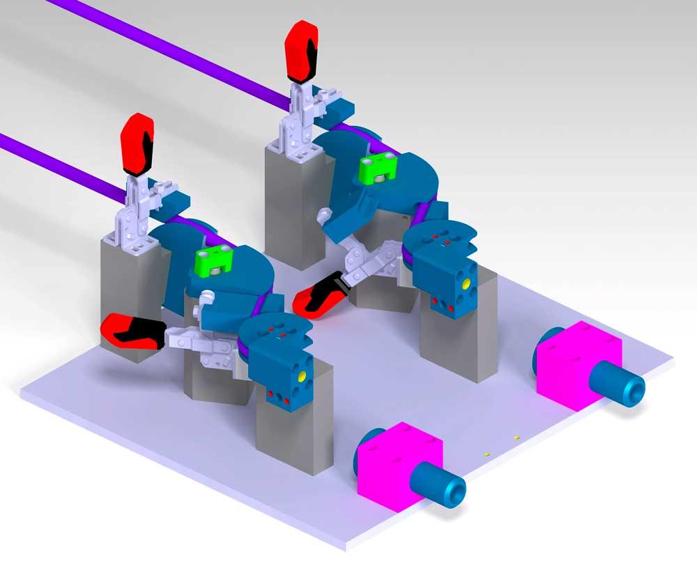 util conformado de tubos
