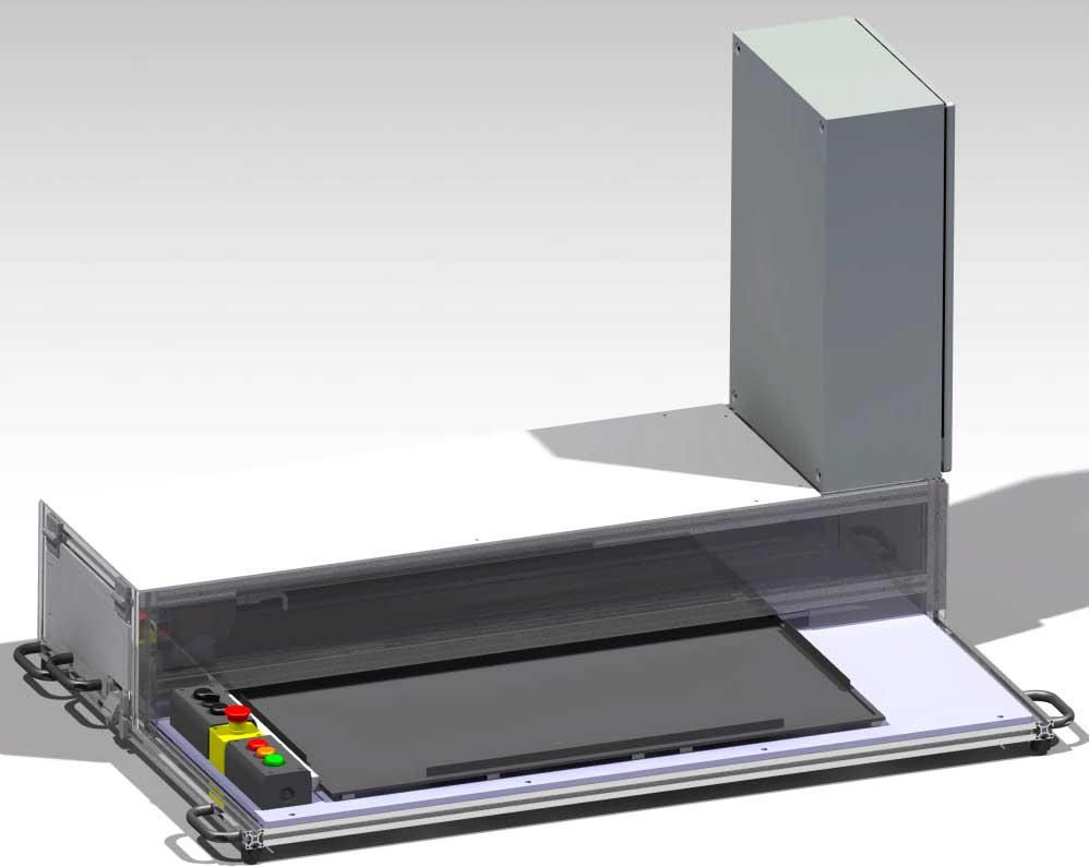 inspeccion de placas de induccion